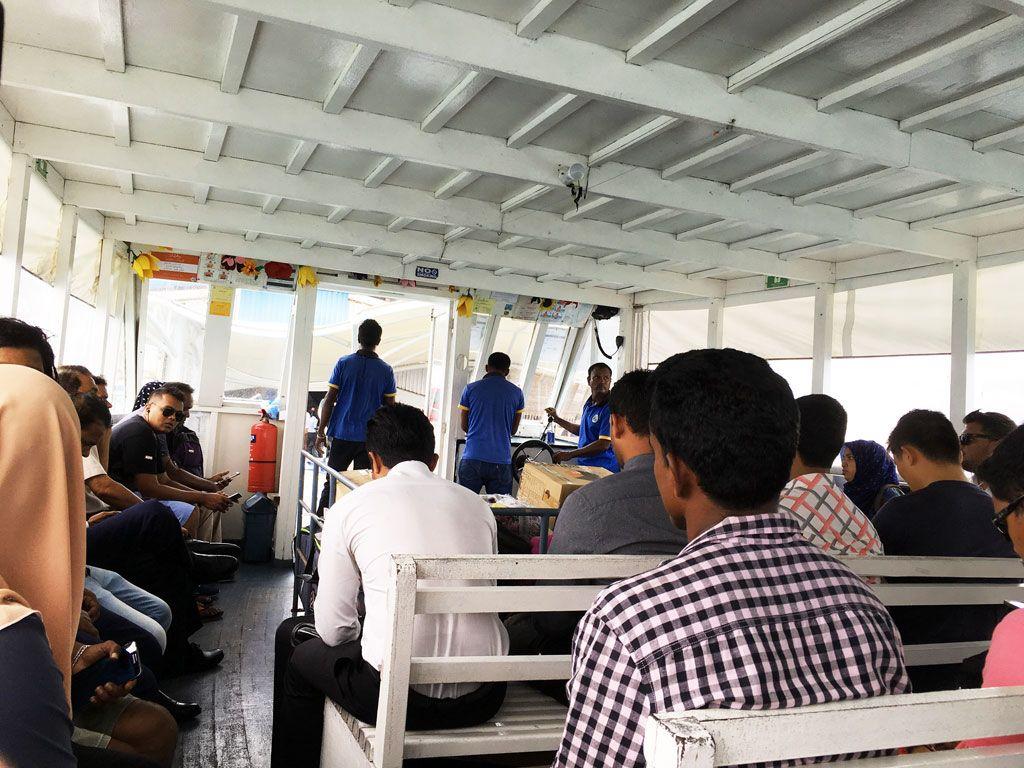 transporte publico maldivas