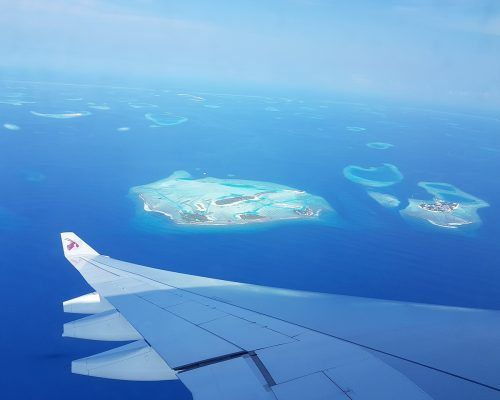 llegar a maldivas