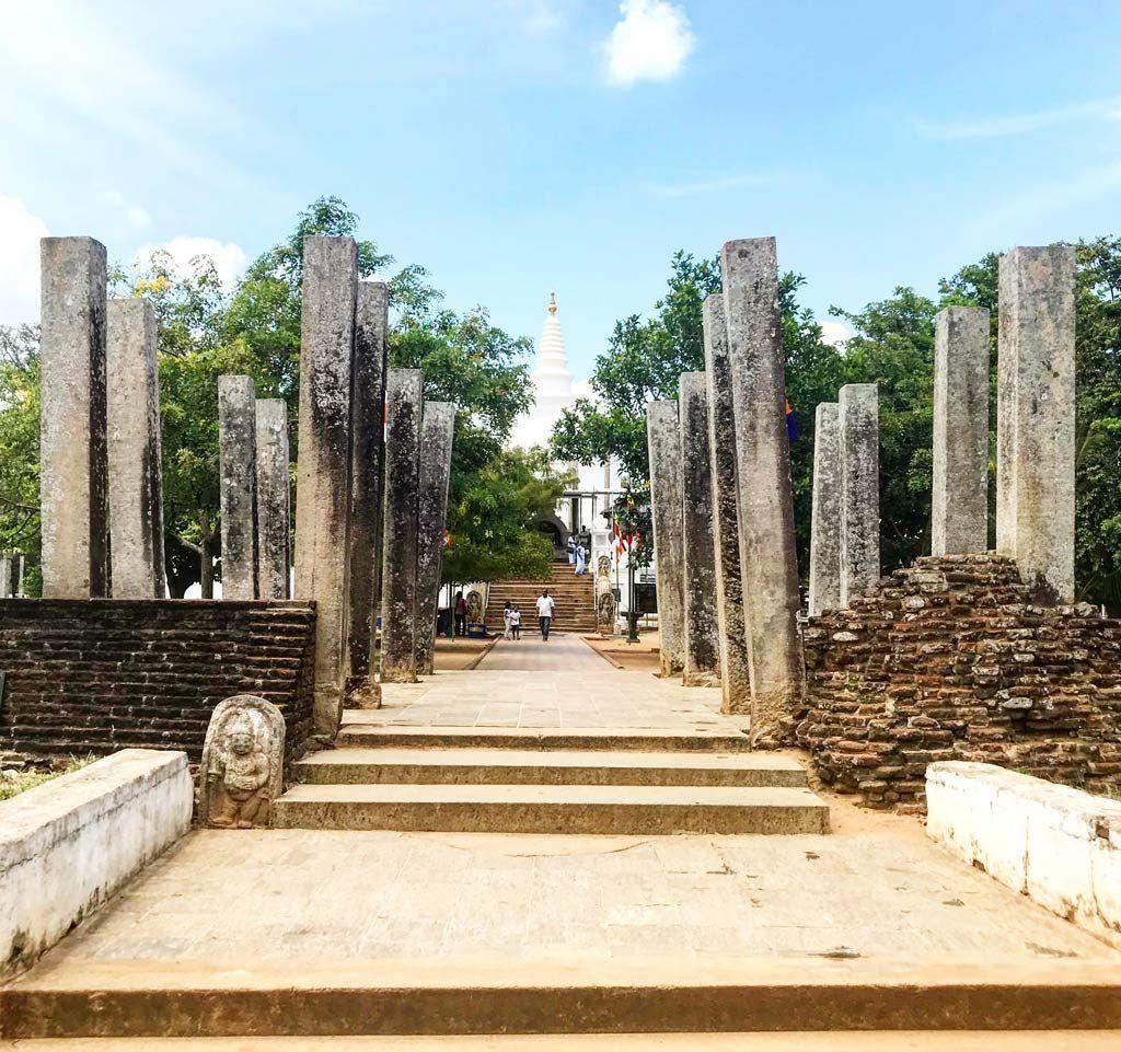 ruinas imprescindibles en Sri Lanka Anuradhapura
