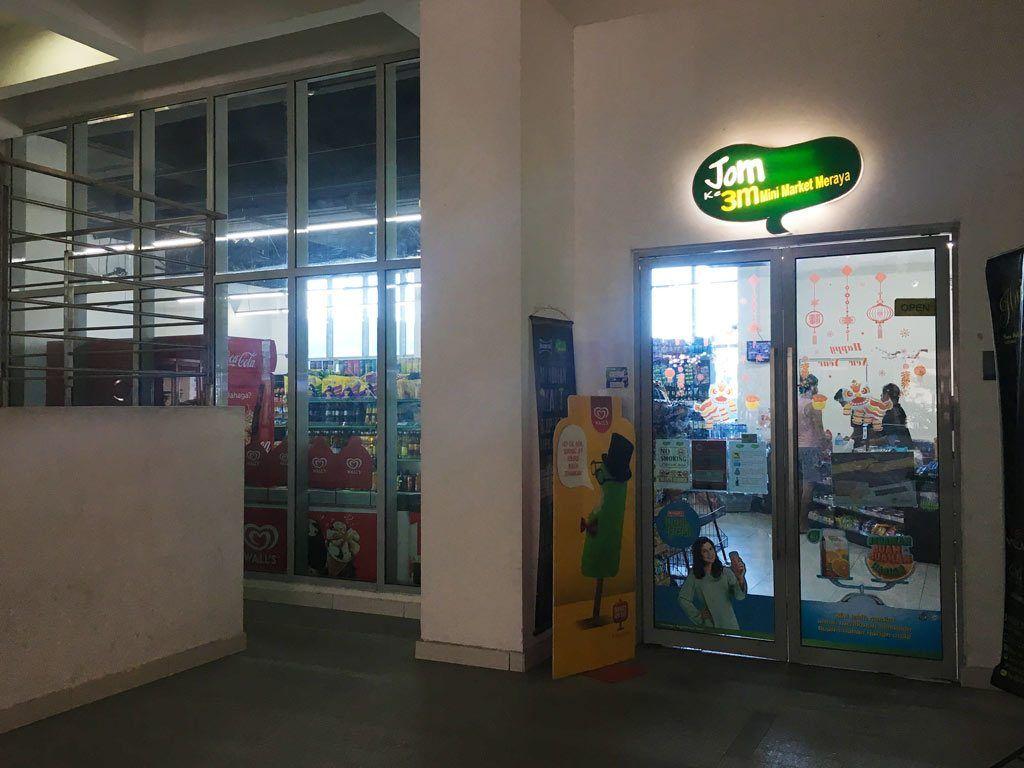 supermercado en regalia Kuala Lumpur