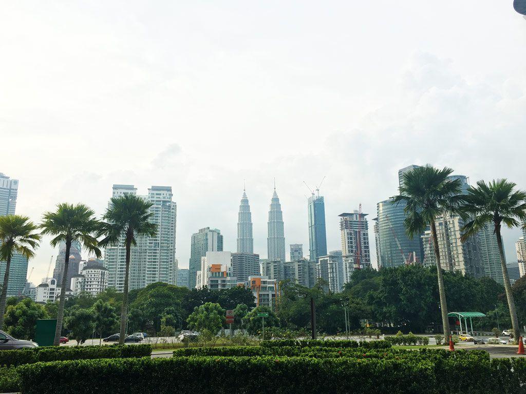 torres Petronas desde el hospital