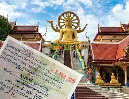 extension del visado en Koh Samui