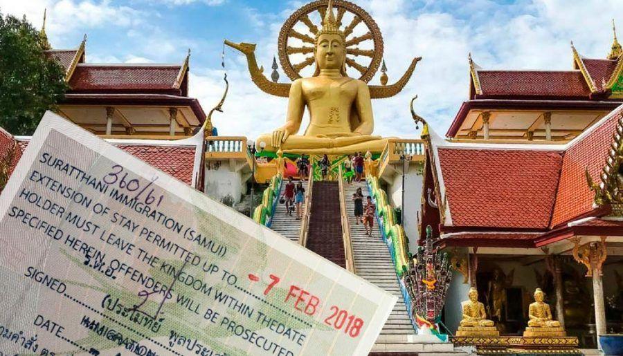 Aventuras en Koh Samui: Extensión del visado para un mes más