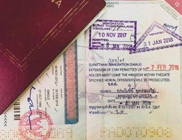 visado apra viajar a Tailandia
