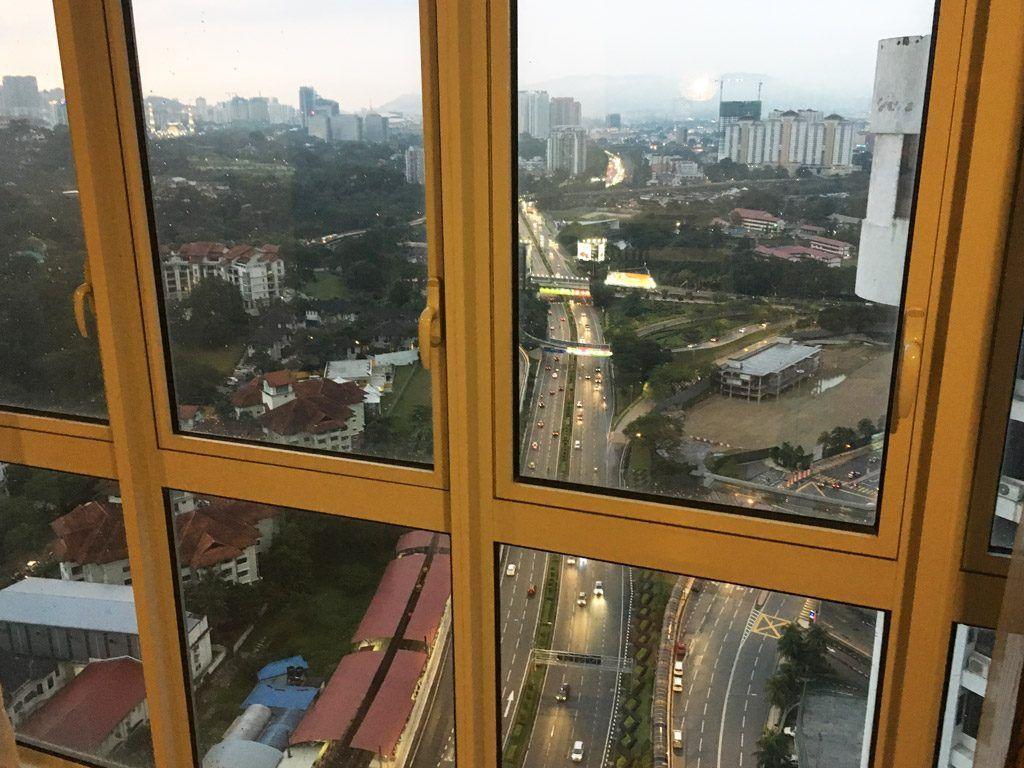 dormir en rascacielos Kuala Lumpur