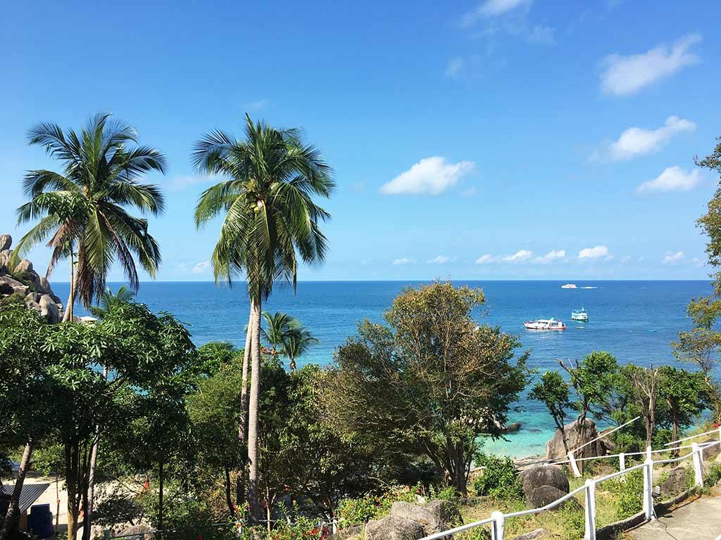 mejores playas de Koh tao freedom beach