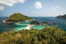 las mejores playas de Koh tao Koh nang yuan
