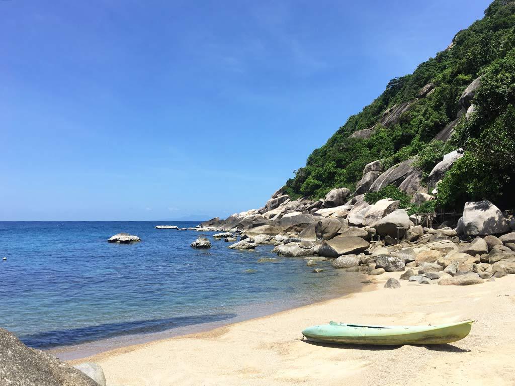 mejores playas de Koh tao tanote bay