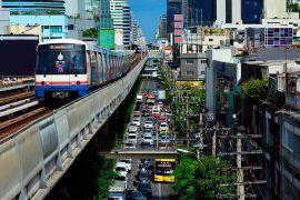 como ir del aeropuerto Suvarnabhumi al centro de bangkok
