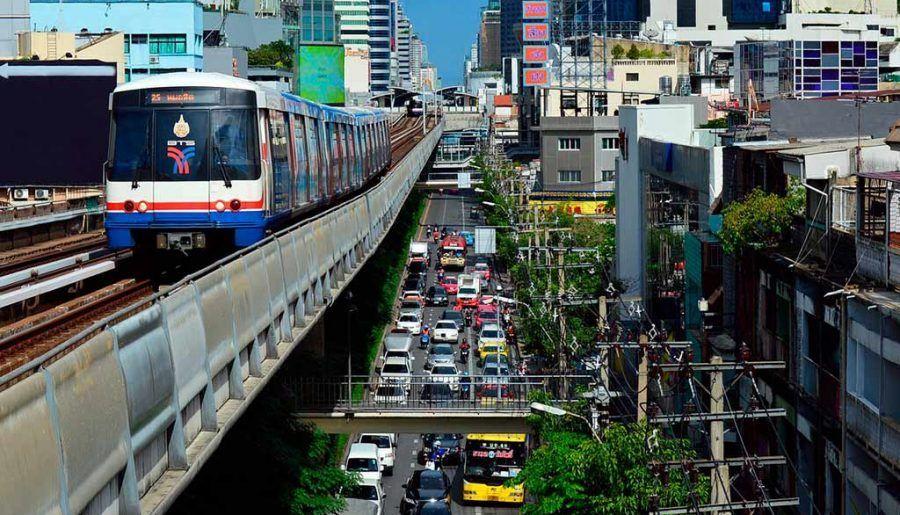 Cómo ir del aeropuerto Suvarnabhumi al centro de Bangkok