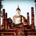 como llegar a Sukhothai desde bangkok en bus tren avión