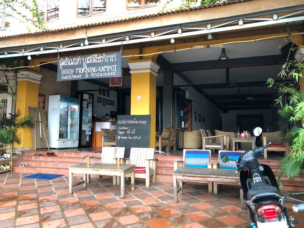donde dormir en Kampot