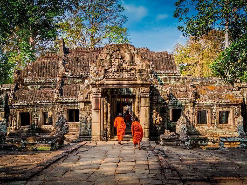 ruta itinerario de viaje a camboya